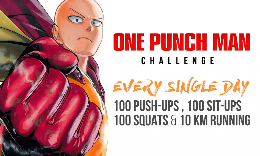 one punch man workout routine