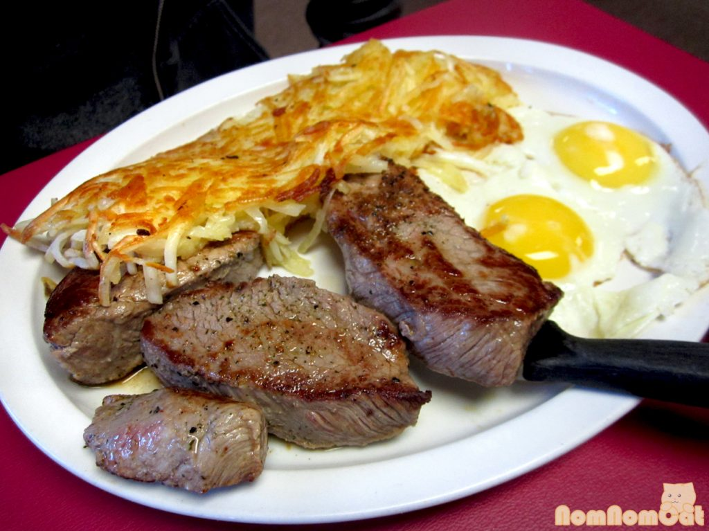 steak and eggs muscle mass